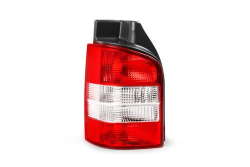 Rear light left clear VW Transporter T5 Caravelle 03-15 1 door