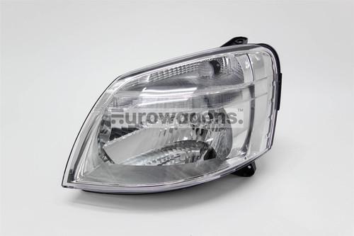 Headlight left Berlingo Partner 02-08