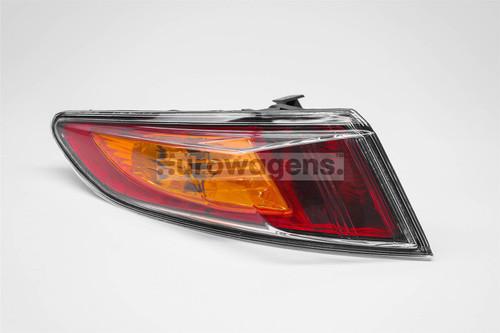 Rear light left orange Honda Civic 06-08