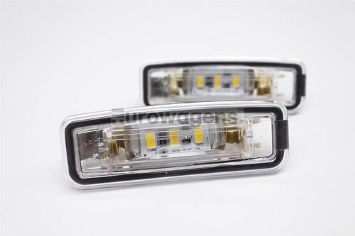 Number plate lights set LED Ford Focus 98-04