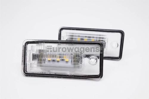 Number plate lights set LED Audi A3 A4 A5 A6 A8 Q7