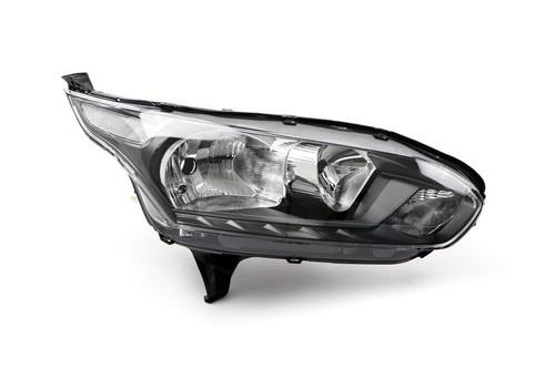 Headlight right black Ford Transit Connect 14- Valeo