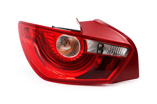 Rear light left Seat Ibiza 08-16 3 door