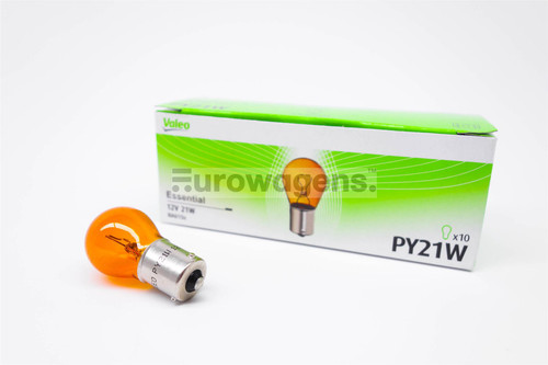 PY21W x1 Indicator light bulb Valeo Essential