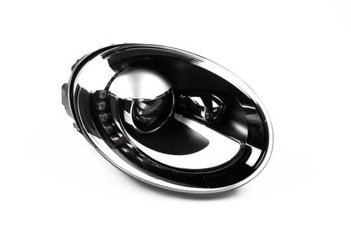 Headlight right black bi-xenon DRL VW Beetle 11-16