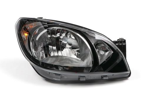 Headlight right black Skoda Citigo 11-16