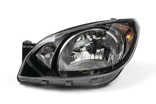 Headlight left black Skoda Citigo 11-16