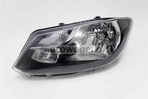 Headlight left DRL VW Caddy MK3 10-14 Hella