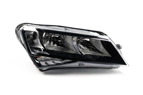 Headlight right DRL Skoda Superb 15-19