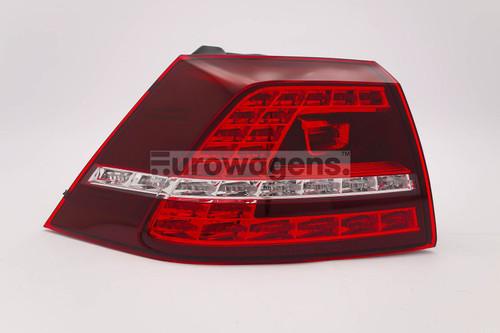 Rear light left LED VW Golf MK7 GTI GTD 12-16