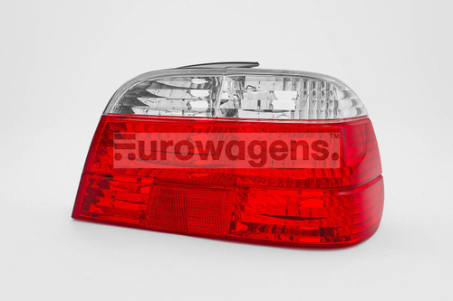 Rear light right clear red BMW 7 Series E38 99-01