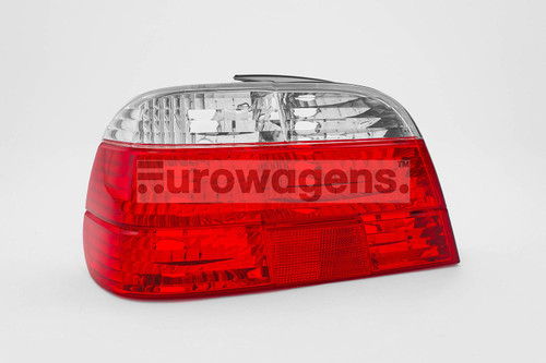 Rear light left clear red BMW 7 Series E38 99-01