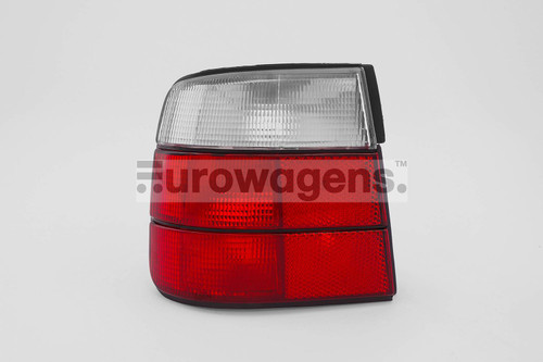 Rear light left clear red BMW 5 Series E34 87-95 Saloon