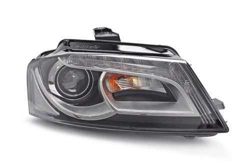 Headlight right xenon LED DRL Audi A3 08-12