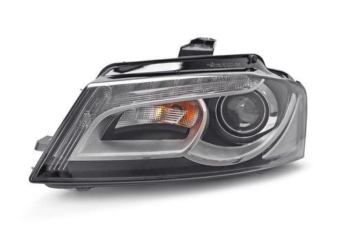 Headlight left xenon LED DRL Audi A3 08-12