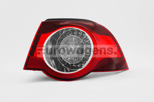 Rear outer light right LED dark red VW Eos 06-10