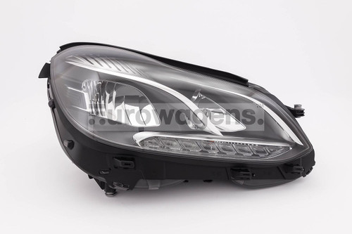 Headlight right Mercedes Benz E Class W212 LED 13-16