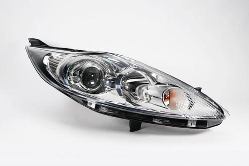 Headlight right projector chrome Ford Fiesta MK6 08-12