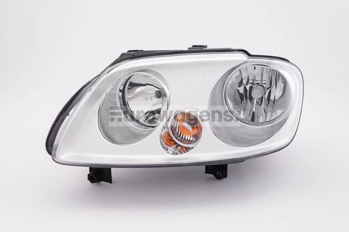 Headlight left twin reflector VW Caddy MK3 Touran