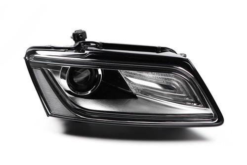 Headlight right bi-xenon LED DRL Audi Q5 13-16