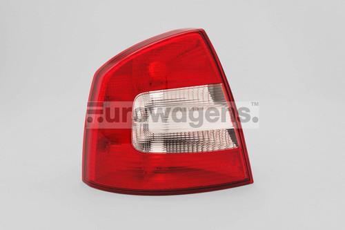 Rear light left Skoda Octavia Hatchback 09-12