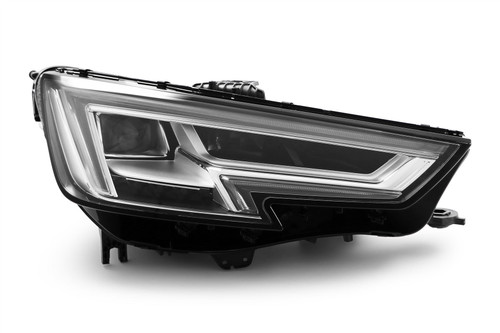 Headlight right full LED DRL Audi A4 B9 15-19