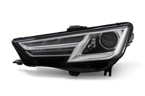 Headlight left xenon LED DRL Audi A4 B9 15-18 OEM