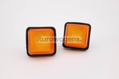 Side indicators set orange with loom Ford Fiesta MK1 74-82