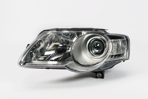 Headlight left chrome VW Passat 3C 05-10 Valeo