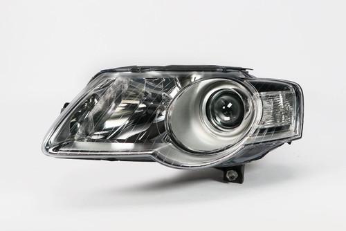 Headlight left chrome VW Passat 3C 05-10 Valeo