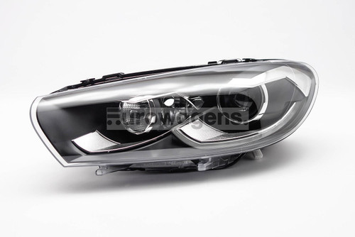 Headlight left black bi xenon LED DRL AFS VW Scirocco 14-17