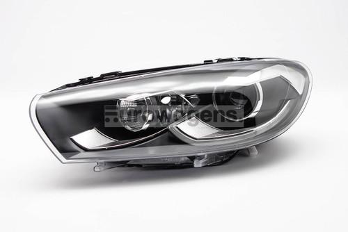 Headlight left black bi xenon LED DRL AFS VW Scirocco 14-17