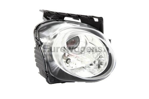 Headlight right Nissan Juke 15-17