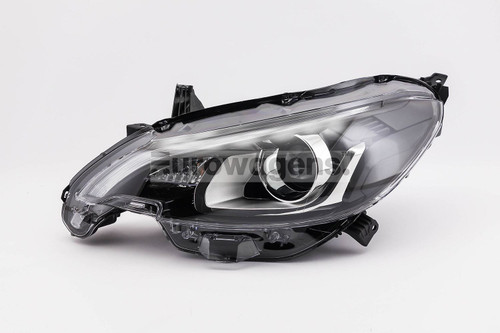 Headlight left with LED DRL Peugeot 108 14-