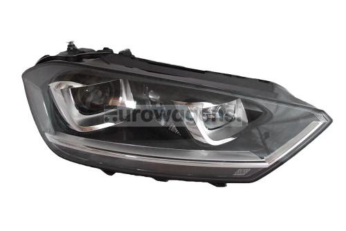 Headlight right bi xenon LED DRL AFS VW Golf Sportsvan 14-17