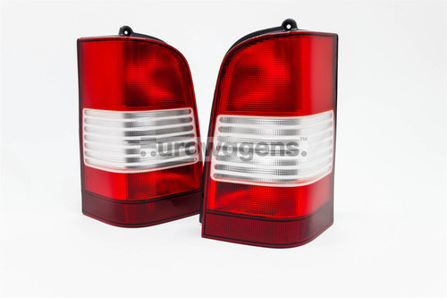Rear light set clear Mercedes V Class Vito