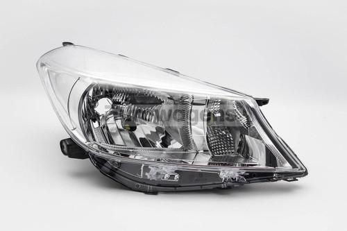 Headlight right Toyota Yaris 11-13