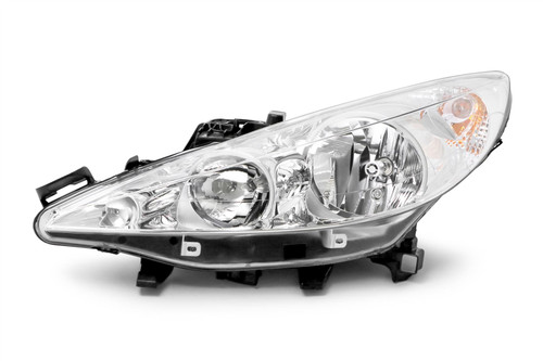 Headlight left Peugeot 207 06-11