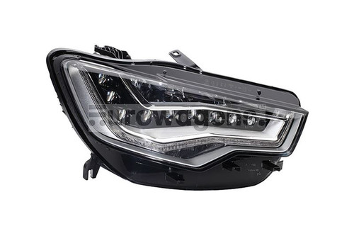 Headlight right full LED with AFS Audi A6 4G 11-14