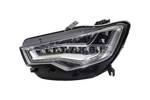 Headlight left full LED with AFS Audi A6 4G 11-14