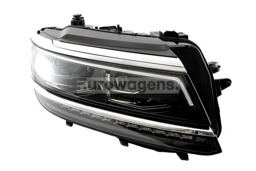 Headlight right LED adaptive VW Tiguan 16-