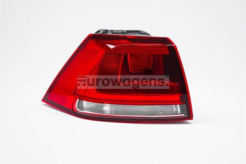 Rear light left VW Golf MK7 13-16 Hella