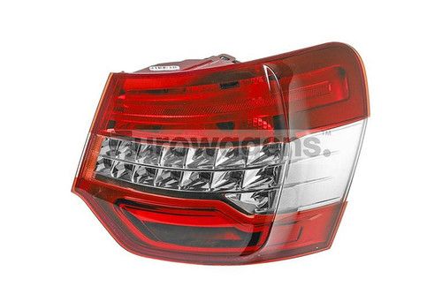Rear light right Citroen C5 08-10 Saloon