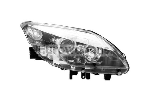 Headlight right black Renault Laguna 11-15