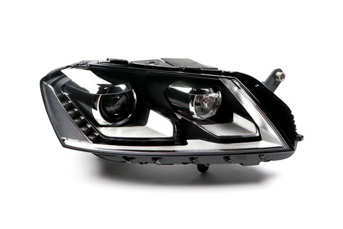 Headlight right bi-xenon LED DRL AFS VW Passat 11-14