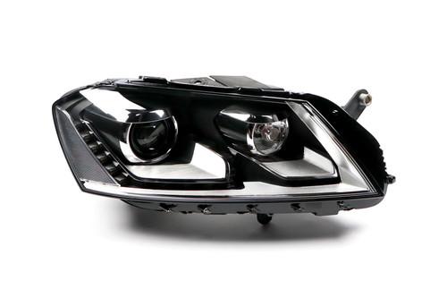 Headlight right bi-xenon LED DRL AFS VW Passat 11-14