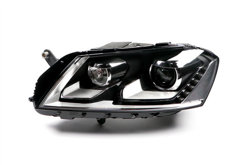 Headlight left bi-xenon LED DRL AFS VW Passat 11-14
