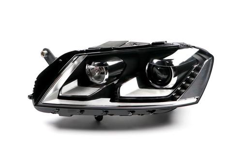 Headlight left bi-xenon LED DRL AFS VW Passat 11-14