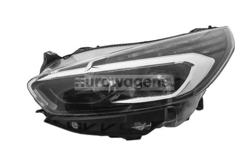 Headlight left full LED Ford S-Max 15-17