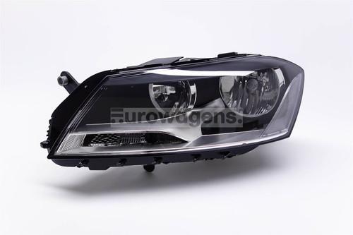 Headlight left VW Passat 11-14 Valeo